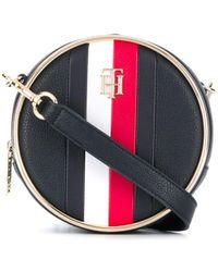 Tommy Hilfiger Statement Circle Crossbody Bag - Blue