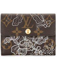Louis Vuitton Кошелек Для Монет Ludlow 2007-го Года С Монограммой - Коричневый