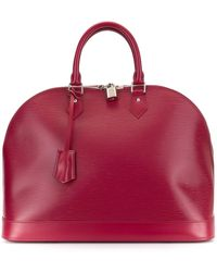 Louis Vuitton Pre-owned Alma Gm Tote - Red