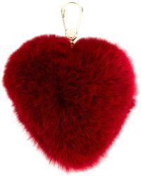 Furla - Heart-shaped Bubble Key Ring - Lyst