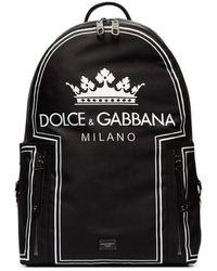 Dolce & Gabbana Vulcano バックパック - ブラック