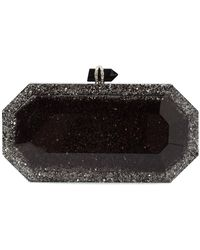 Marchesa - Glitter Box Clutch Bag - Lyst