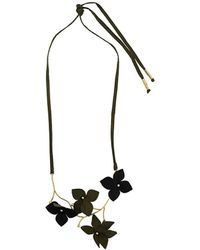 Marni 'Flora' Halskette - Schwarz