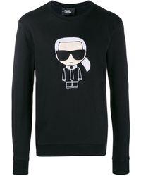 Karl Lagerfeld - ロゴ スウェットシャツ - Lyst