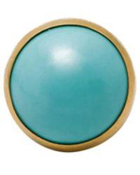 Gurhan 24kt Gold Rune Ring - Blue