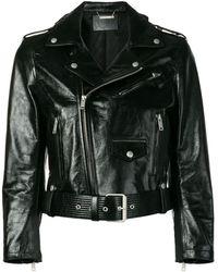 Givenchy Chaqueta biker - Negro