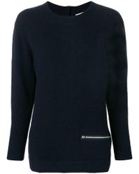 Snobby Sheep - Zip-detail Fitted Jumper - Lyst