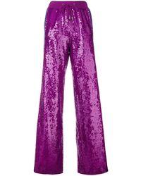Alberta Ferretti Rainbow Week Trousers - Pink