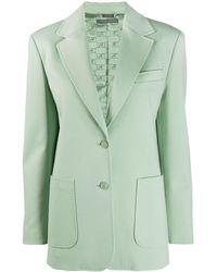 Alberta Ferretti シングルジャケット - グリーン