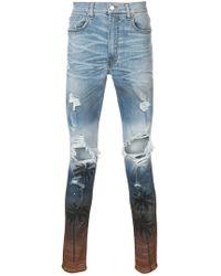 Amiri - Distressed Skinny Jeans - Lyst