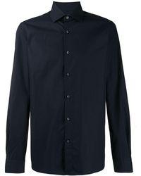 Ermenegildo Zegna Overhemd - Blauw