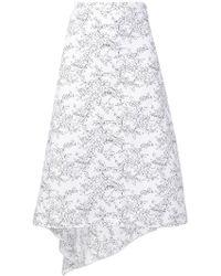 Ports 1961 - Asymmetric Printed Skirt - Lyst