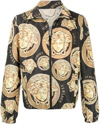 Versace Легкая Куртка С Декором Medusa - Черный