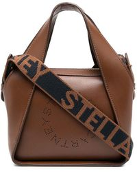 Stella McCartney - Сумка-тоут Stella Logo Размера Мини - Lyst