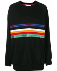 NO KA 'OI - Oversized Stripe Front Sweatshirt - Lyst