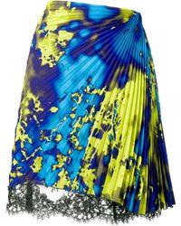 MSGM プリーツ スカート - ブルー