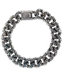 Emanuele Bicocchi Spike Chain Bracelet - Metallic