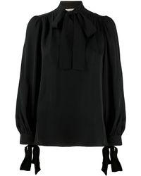 MICHAEL Michael Kors Блузка С Бантом - Черный