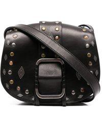 Ba&sh Teddy Shoulder Bag - Black