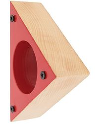 Corto Moltedo Triangular Bangle - Red