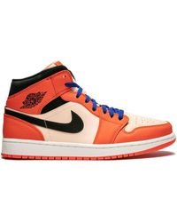 Nike 'Air 1 Mid SE' Sneakers - Orange
