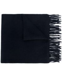 N.Peal Cashmere Woven Scarf - Blauw