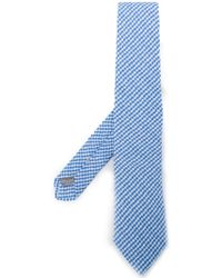 Canali - Gingham Tie - Lyst