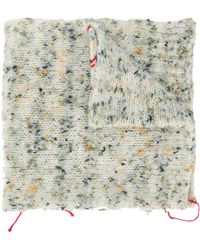 Maison Margiela Knitted Scarf - Multicolour