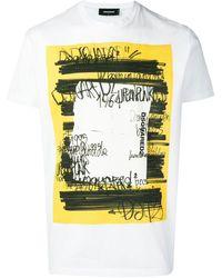 DSquared² グラフィティ Tシャツ - マルチカラー
