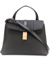 Agnona Tote Bag - Black