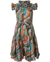 La DoubleJ Платье Zip & Sassy Fiammiferi - Многоцветный