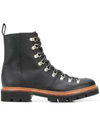Grenson 'Gren Brady' Hiking-Boots - Schwarz