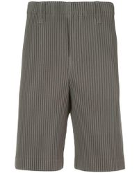 Homme Plissé Issey Miyake - Pleated Shorts - Lyst