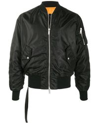 Unravel Project Bomber Jacket - ブラック