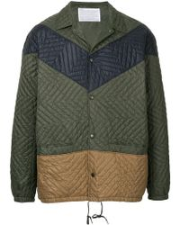 Kolor - Colour-block Fitted Jacket - Lyst