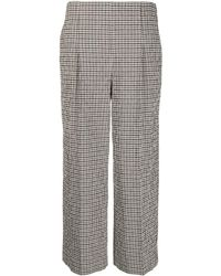 Chalayan - Cropped Wide Leg Trousers - Lyst