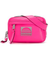 Marc Jacobs ロゴプレート ベルトバッグ - ピンク