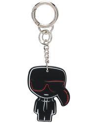 Karl Lagerfeld K/ikonik キーホルダー - ブラック