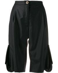 Natasha Zinko Cargo Pocket Shorts - Black