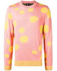 Liam Hodges - Spotted Crew Neck Jumper - Lyst
