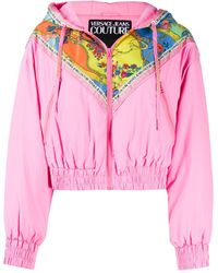 Versace Jeans Couture - カラーブロック ボンバージャケット - Lyst