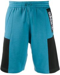 adidas 'Adventure' Joggingshorts - Blau
