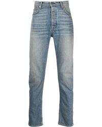 Enfants Riches Deprimes Faded Slim-fit Jeans - Blue