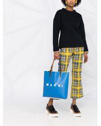 Marni クルーネック スウェットシャツ - ブルー