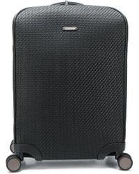 Ermenegildo Zegna Pelletessutatm Cabin Trolley Bag - Black