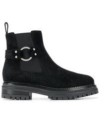 Sergio Rossi Side buckle boots - Nero