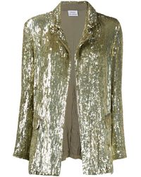 P.A.R.O.S.H. Sequined Jacket - Green