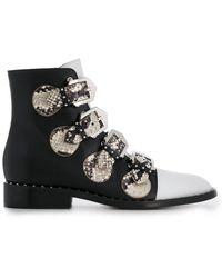 Givenchy Ботинки С Ремешками - Черный