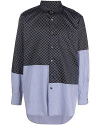 Engineered Garments - パッチワーク シャツ - Lyst