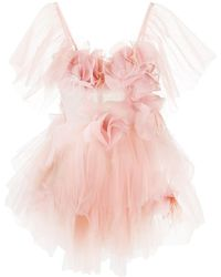 Loulou Tulle Party Dress - Pink